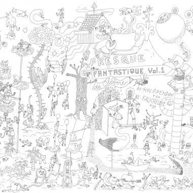 Fresque Fantastique Vol. 1